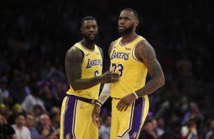 Lance Stephenson and LeBron James
