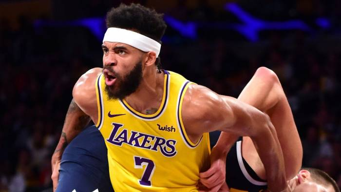 JaVale McGee Los Angeles Lakers