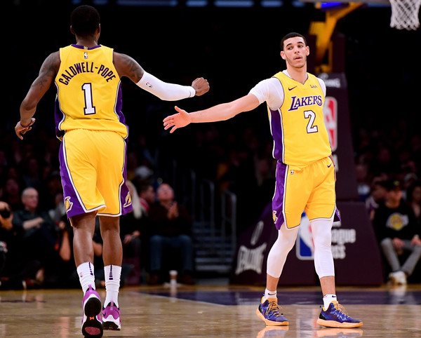Kentavious Caldwell-Pope and Lonzo Ball