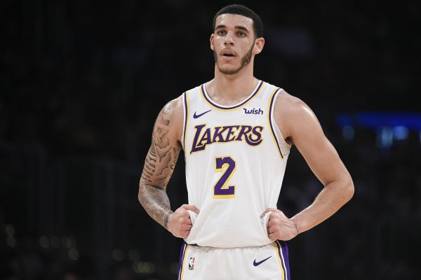 Lonzo Ball Los Angeles Lakers