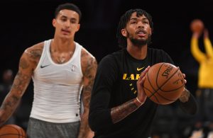 Kyle Kuzma and Brandon Ingram