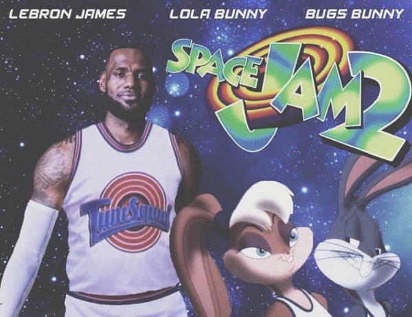 LeBron James, Space Jam 2