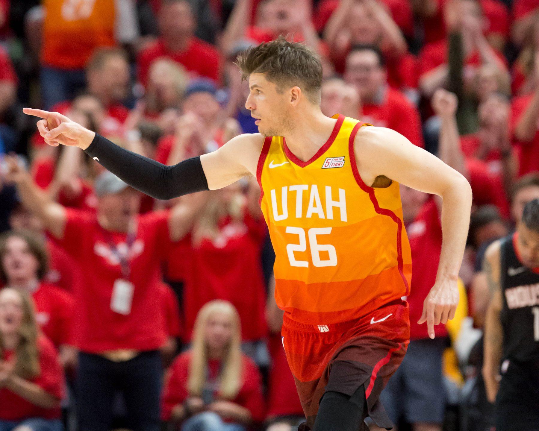 Kyle Korver Utah Jazz