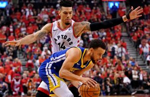 Danny Green Stephen Curry