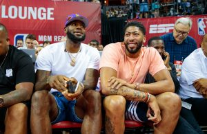 LeBron James and Anthony Davis