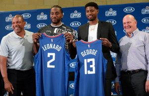 Kawhi Leonard and Paul George Clippers