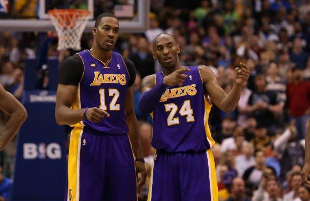 Dwight Howard and Kobe Bryant Lakers