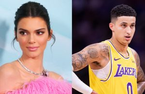Kendall Jenner and Kyle Kuzma