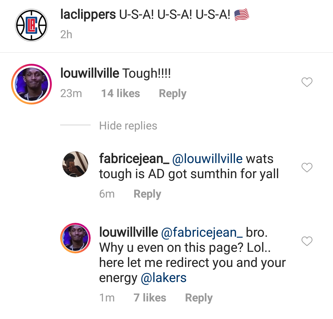 Lou Williams Instagram