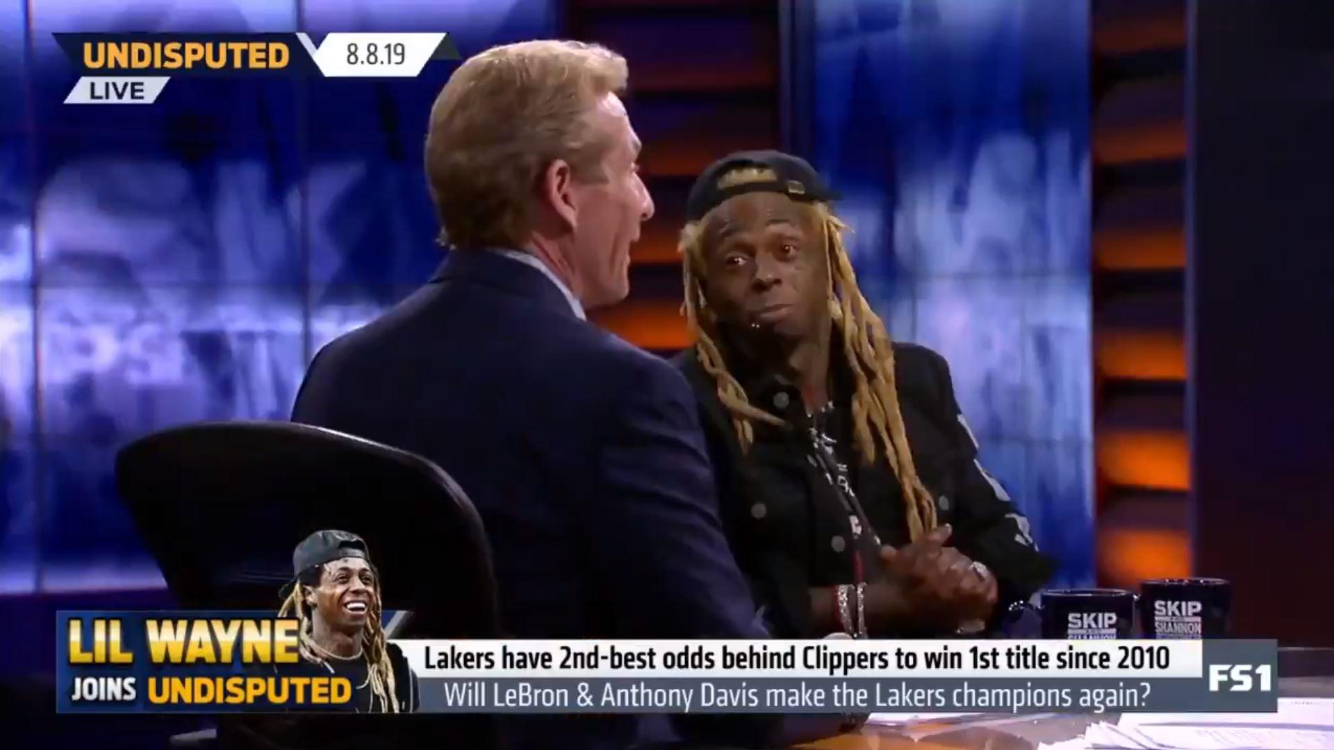 Lil Wayne and Skip Bayless