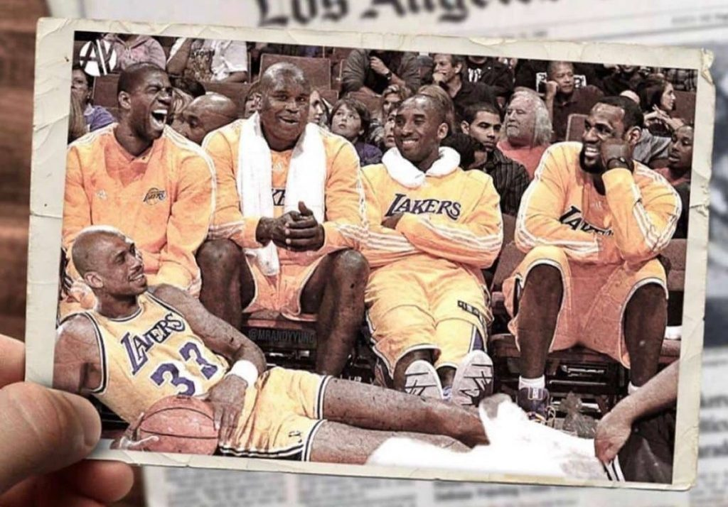 Lakers All Time Starting 5