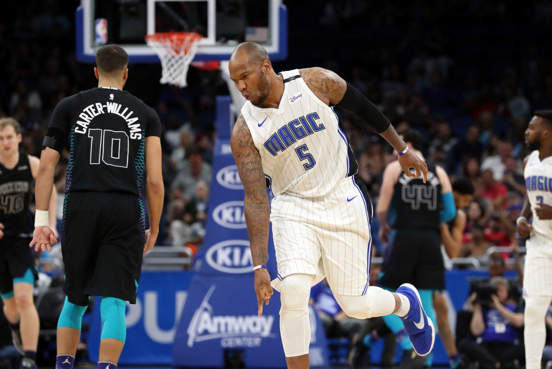 Marreese Speights Orlando Magic