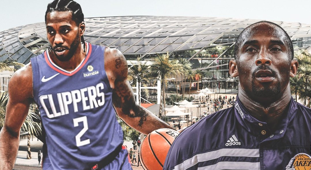 Kawhi Leonard and Kobe Bryant