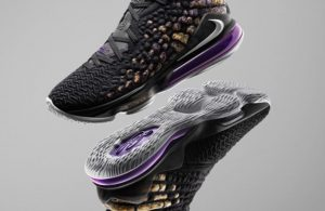 Nike LeBron 17 Lakers Colorway