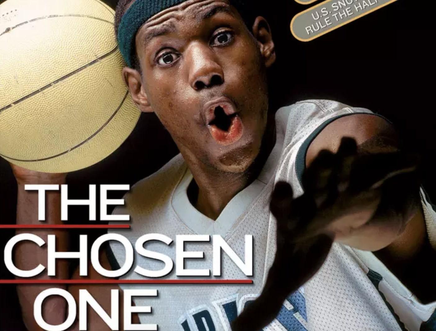 LeBron James SI Cover