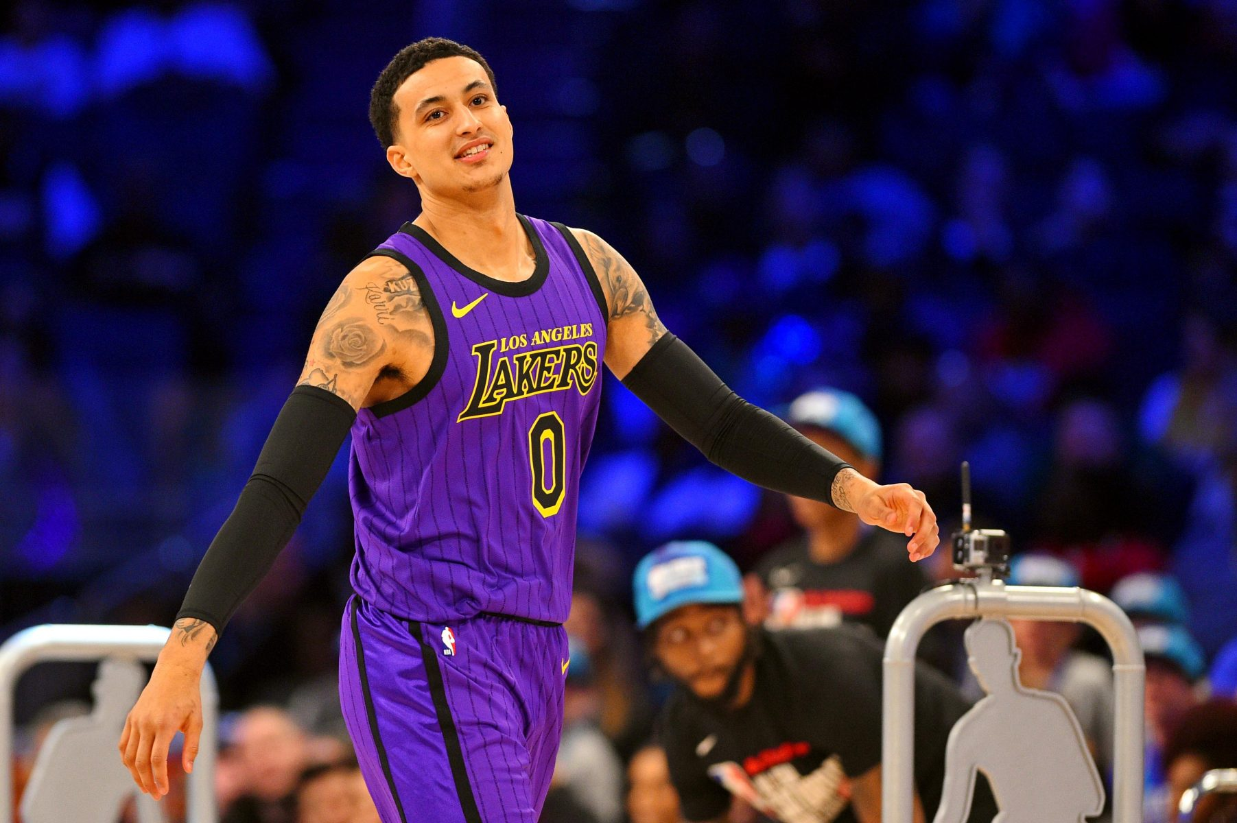 Lakers' Kyle Kuzma out until at least mid-October with foot injury