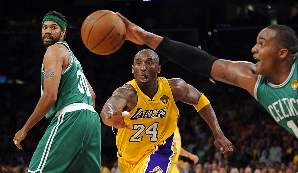 Kobe Bryant and Boston Celtics