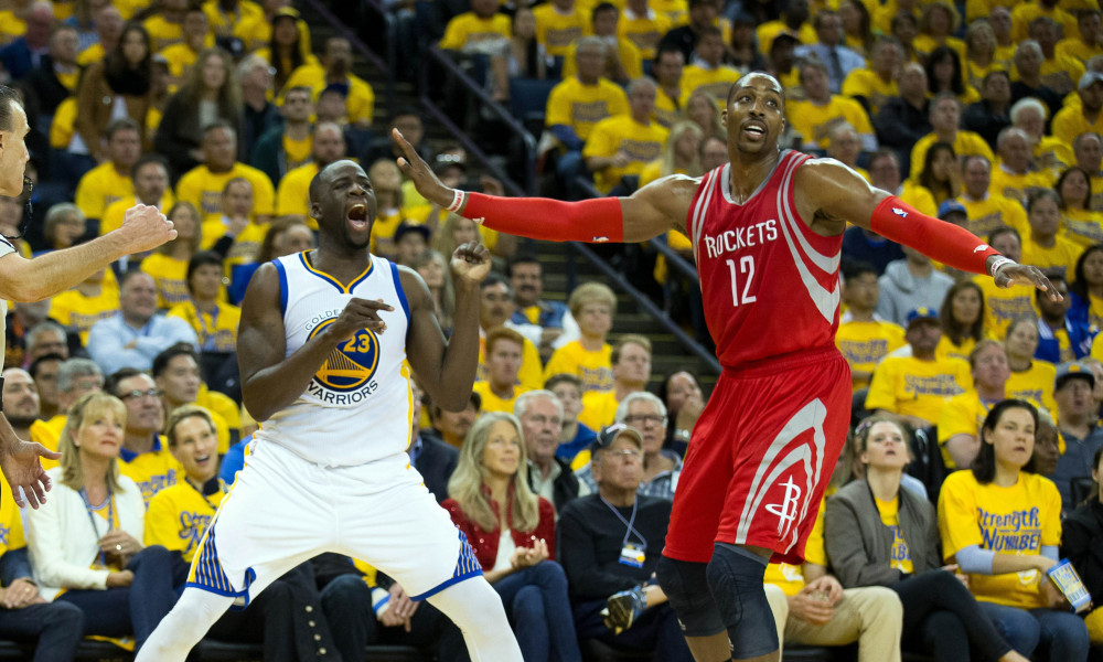 Draymond Green and Dwight Howard