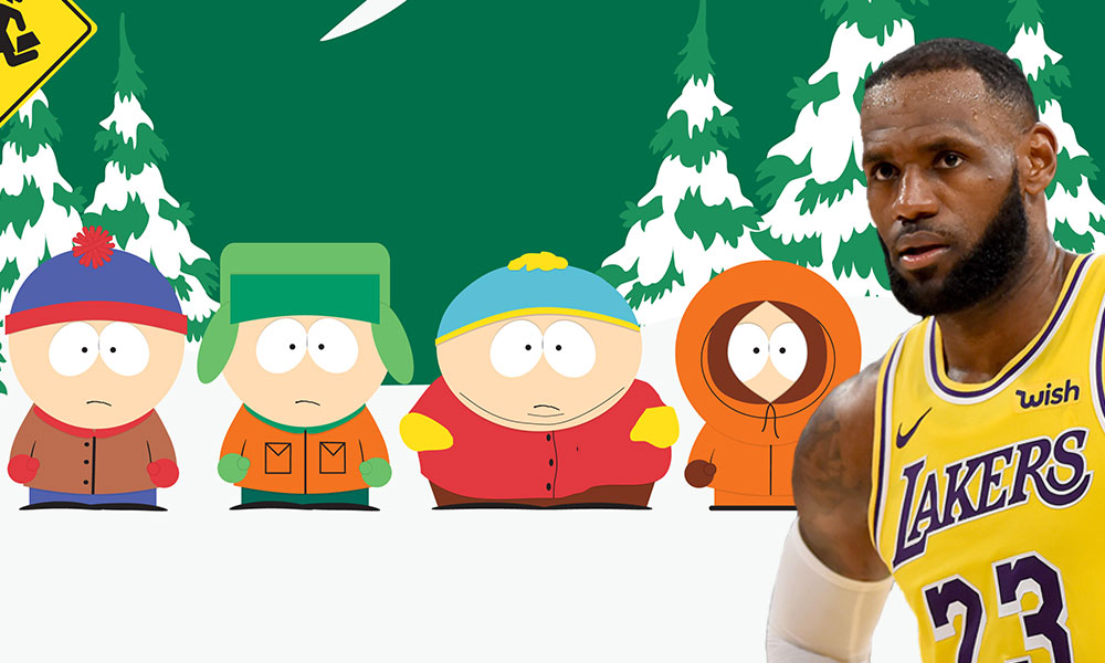 LeBron James and South Park