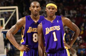 Kobe Bryant and Smush Parker Lakers