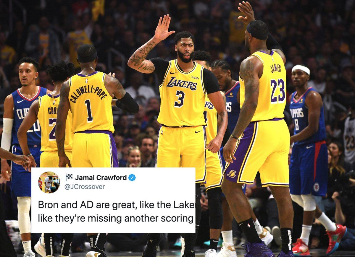 Jamal Crawford Lakers