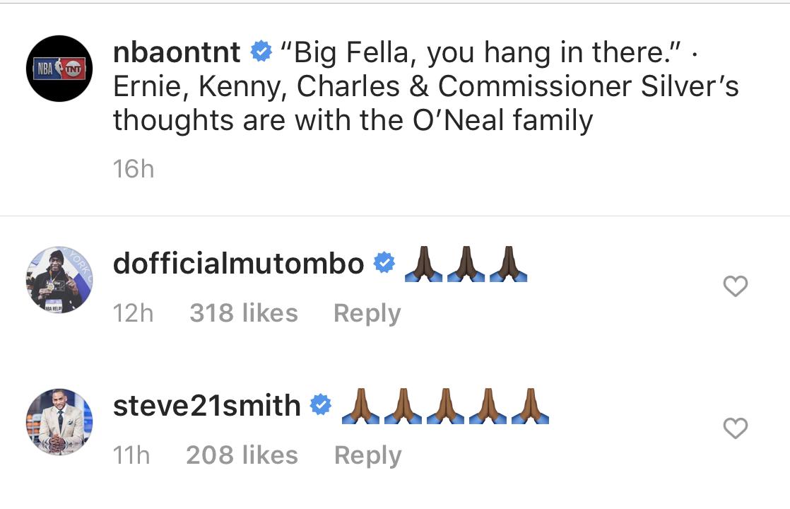 Dikembe Mutombo and Steve Smith