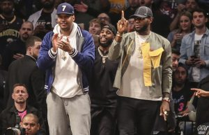 LeBron James, Chris Paul and Carmelo Anthony