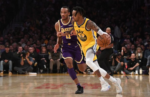Avery Bradley and D'Angelo Russell