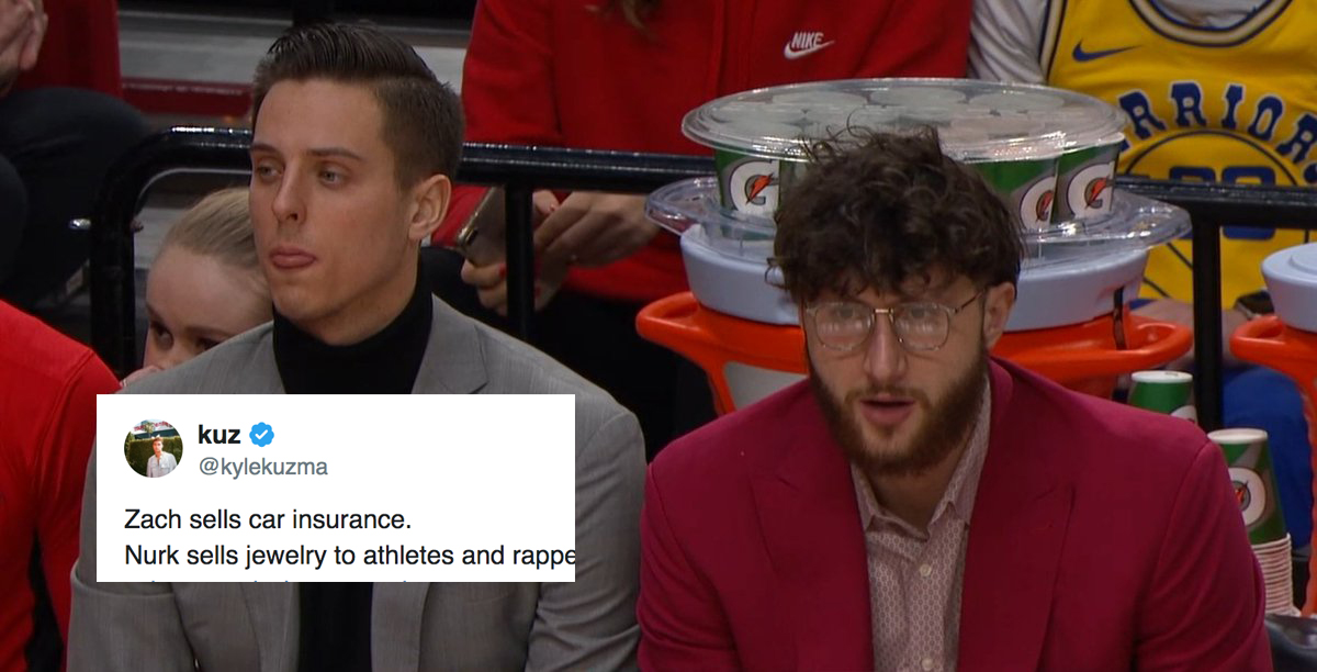 Zach Collins and Jusuf Nurkic