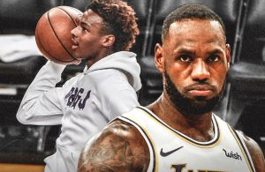 LeBron James and Bronny