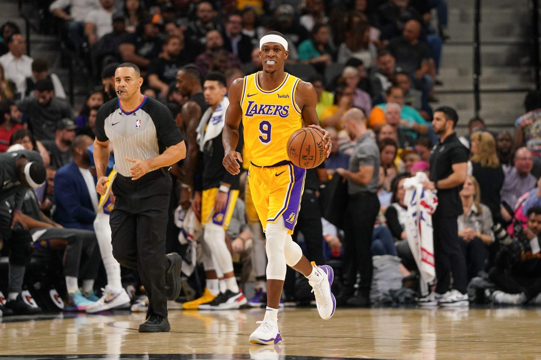 Lakers News: Rajon Rondo Suffers Injury vs. Portland Trail ...