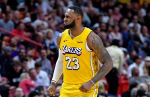 LeBron James Lakers