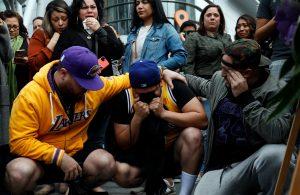 Lakers Fans Mourn Kobe Bryant