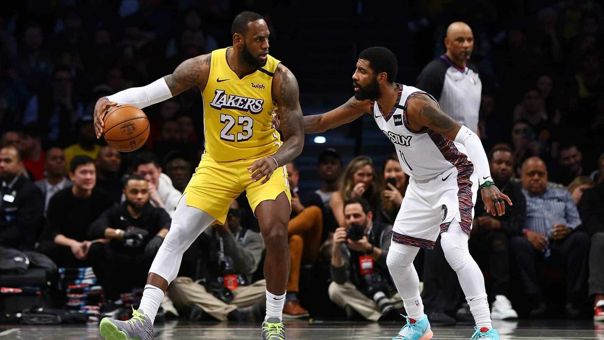 Los Angeles Lakers Vs Brooklyn Nets Game Time Odds Schedule