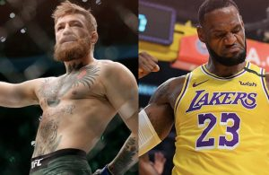 Conor McGregor and LeBron James