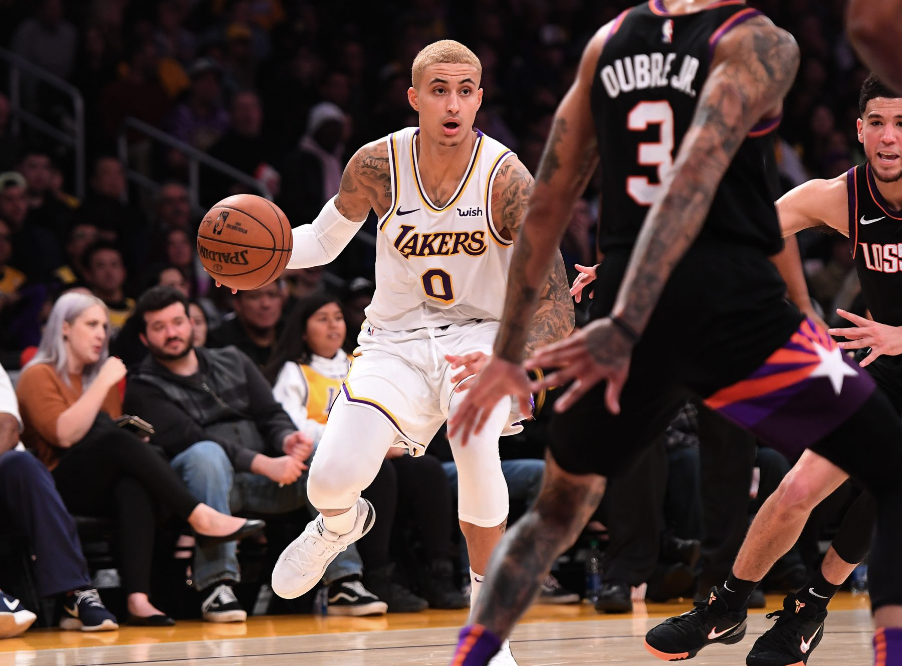 LeBron James remains supportive of Kyle Kuzma even after trainer's rant