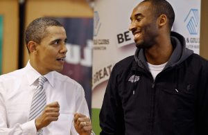 Barack Obama and Kobe Bryant