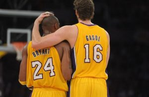 Kobe Bryant and Pau Gasol Lakers