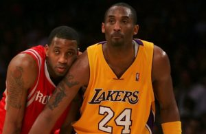 Tracy McGrady and Kobe Bryant