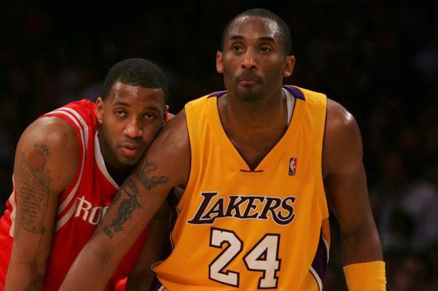 Tracy McGrady and Kobe Bryant