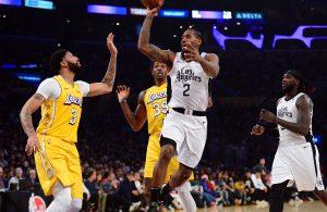 Anthony Davis Lakers Kawhi Leonard