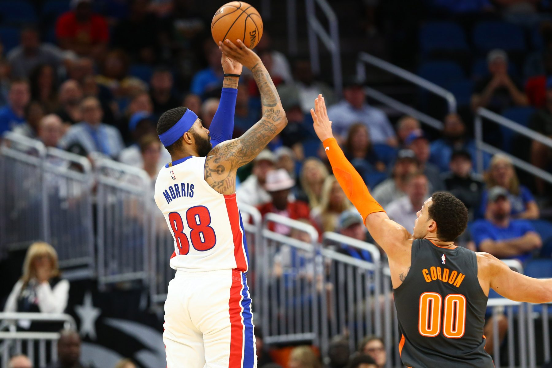 Report Lakers Frontunners To Sign Forward Markieff Morris Lakers Daily