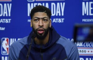 Anthony Davis Media Day
