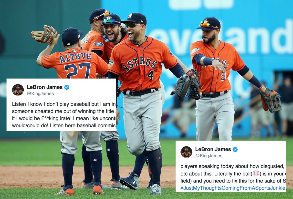 Houston Astros LeBron James