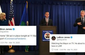 Eric Garcetti LeBron James