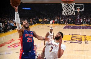 Derrick Rose and Anthony Davis