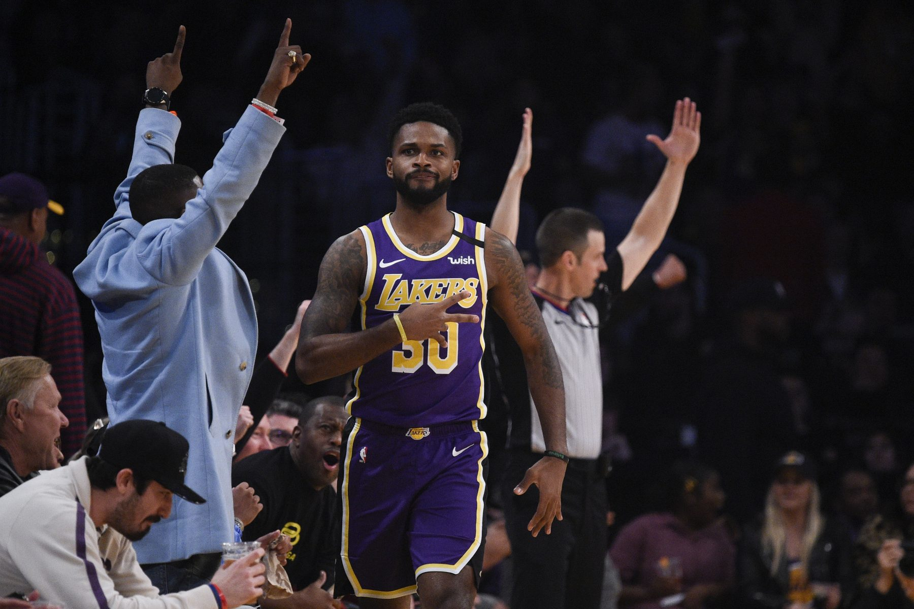 Troy Daniels Lakers