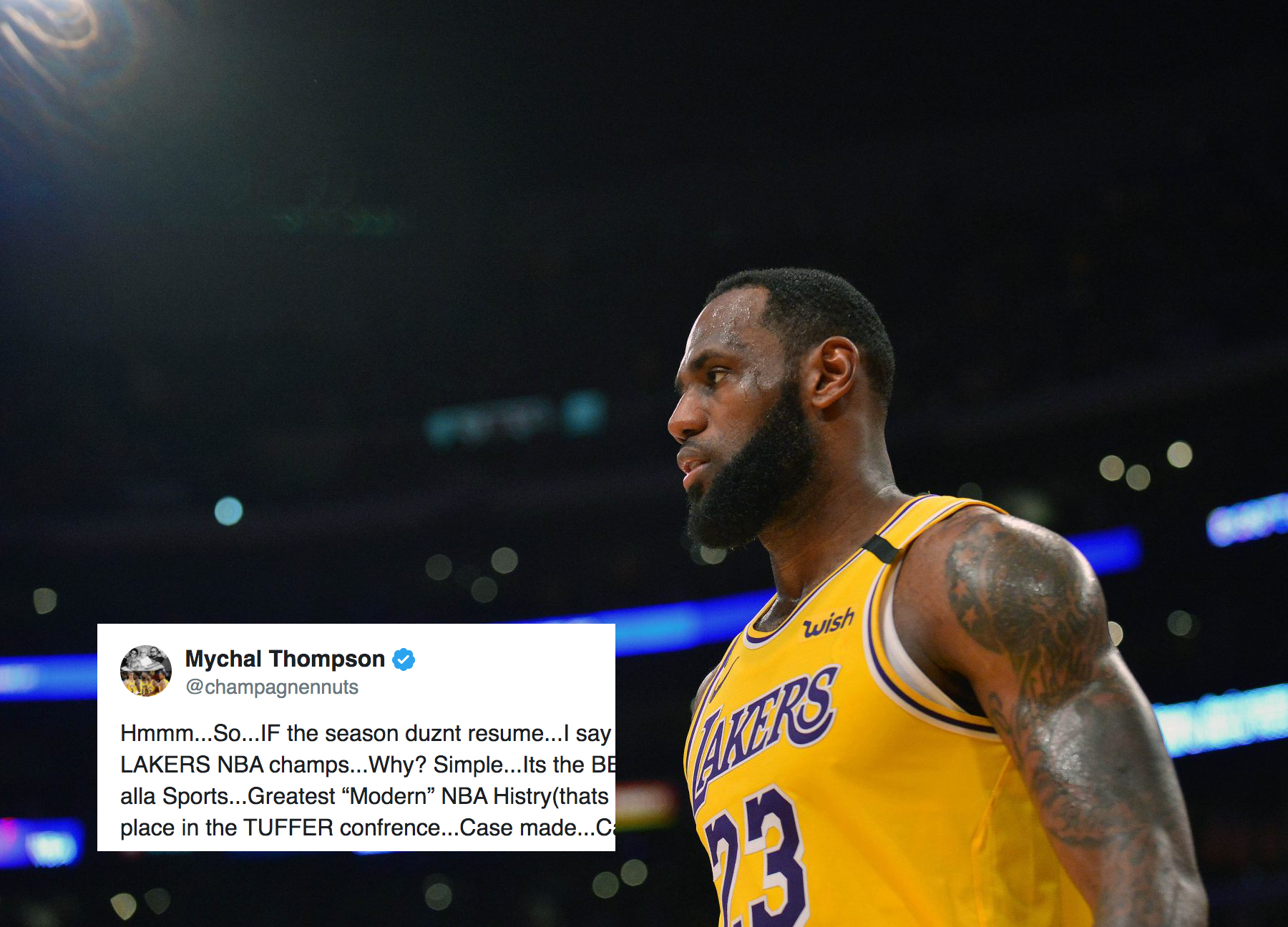 LeBron James, Steph Curry, Luka Doncic, others react to National Basketball Association suspending season