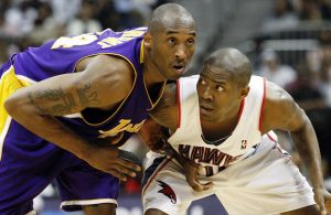 Kobe Bryant and Jamal Crawford