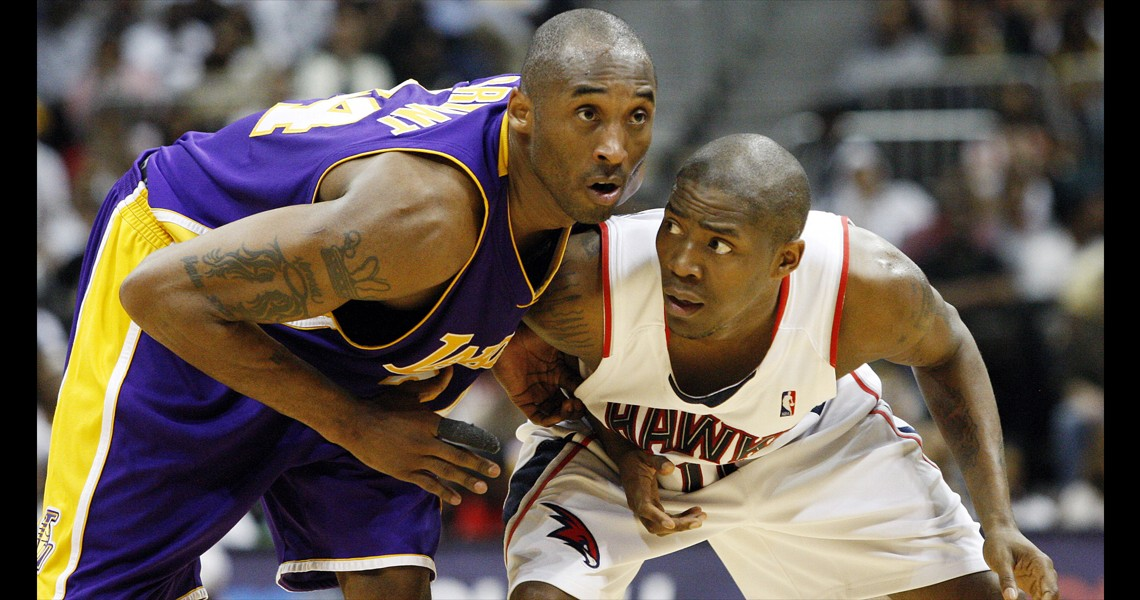 Kobe Bryant and Jamal Crawford
